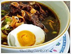 Rawon indonesian black soup