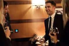 Robert Pattinson at the afterparty in the Beaumont Hotel for The Lost City of Z by Harper's Bazaar - That smile!