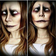 Undead halloween makeup