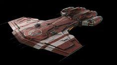 Republic Star Ship   Spaceship
