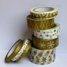 Lot de 8 masking tape - Pikebou - 12€