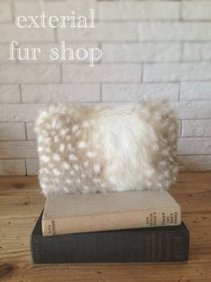 フェイクファーでつくる基本のポーチ   exterial fur shop blog