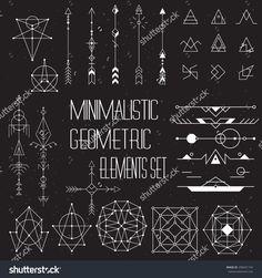 geometric arrow tattoo - Tìm với Google