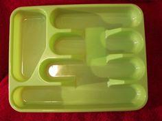 Cooks Cuisine Cultery/Silverware/Flatware Tray (Neon Green - New) - $3.99