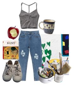 """""""Untitled #191"""" by tater-titties on Polyvore featuring Chicnova Fashion, Mason's, Superga, Taschen and Abercrombie & Fitch"""