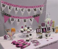 Blue Camo Baby Shower Decorations