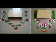 2 Easy and quick rangoli designs for Ganesha Chaturthi | Rangoli designs for Ganpati - YouTube