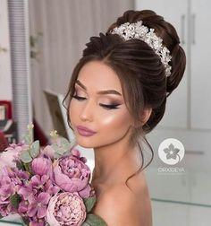 Make – Wedding Make-up – # Make - New Site Make - Wedding Make-up. - Make – Wedding Make-up – # Make - New Site Make - Wedding Make-up - # Make - - - Bridal Makeup For Brunettes, Bridal Makeup Tips, Wedding Makeup Looks, Natural Wedding Makeup, Wedding Beauty, Quince Hairstyles, Wedding Hairstyles, Bridal Make Up, Wedding Make Up
