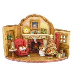 Wee Forest Folk M-510 Home at Christmas #WeeForestFolk