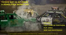 After a multi-year public service co-venture with the our Vehicular Investigations Division is pleased to pre-release one of its 451 safety recommendations. Demolition Derby Cars, Find A Song, Public Service, Safety Tips, Investigations, Ontario, Posts, Messages, Study