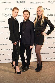 StyleBop.com x Mugler dinner celebrating David Koma's appointment to Mugler