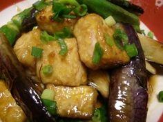 「揚げない♪簡単揚げだし豆腐♪」揚げないのでとっても簡単♪ササっと出来ちゃいます。茄子以外の野菜や、豆腐だけで作っても美味しいです。Pickupレシピコーナーに紹介していただきました。【楽天レシピ】