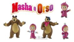 Statuine di Masha e Orso, il nuovo idolo dei bambini