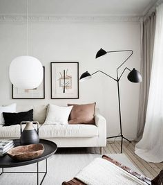 If you want to provide your living room a totally one-of-a-kind look, uniquely designed wall pieces would be the … Living Room Trends, Living Room Designs, Living Room Furniture, Living Room Decor, Living Rooms, House Rooms, Design Scandinavian, Warm Colour Palette, Neutral Palette