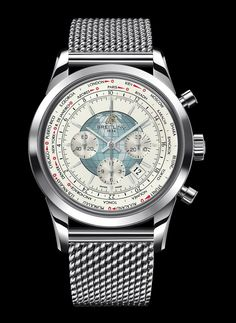 A Breitling chronograph...