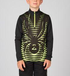 Boys' Ski Shirts - Half Zips & Padded Shirts | SPYDER
