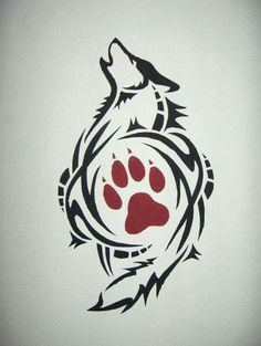 Stencil Painting stencil-painting by wolf-lion on deviantART Tribal Lobo, Arte Tribal, Tribal Art, Wolf Tattoo Design, Tattoo Designs, Tattoo Wolf, Tattoo Ideas, Wolf Print Tattoo, Wolf Tattoo Tribal