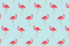 Flamingo seamless pattern - Patterns
