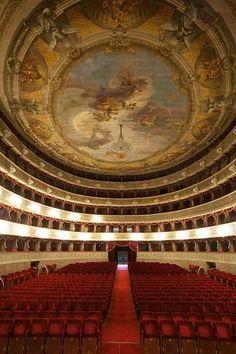 #Donizetti Theatre, Lower City, #Bergamo --- Teatro #Donizetti, Città Bassa, Bergamo
