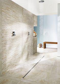 Download the catalogue and request prices of Advantix vario By viega italia, stainless steel shower channel design ARTEFAKT industriekultur, advantix Collection
