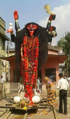 JOY MAA AGOMESWARI KALI MAA Kali Puja, Durga Kali, Shiva Shakti, Mata Rani, Lakshmi Images, Kali Goddess, Sacred Feminine, Krishna Art, Indian Gods