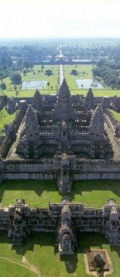 Angkor, Cambodia | UNESCO World Heritage Site .. 6146 Miles. #worldheritagesites