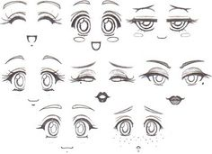 Homemade Decal Eyes 2 by RubyconCream, via Flickr