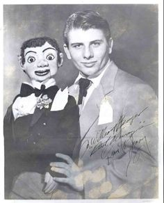 Vintage Portraits of Ventriloquists and their Dummies