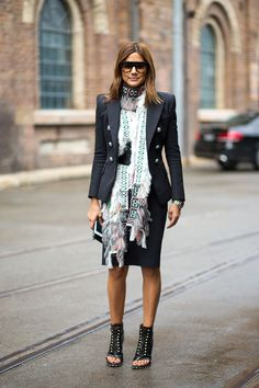 Urban Ethnic Chic The best street style from Australia Fashion Week - 2014