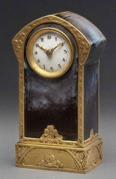 Small Art Nouveau Clock, France.  circa 1900-1905