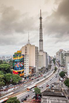 Eduardo Kobra (2015) - R. da Consolação 2608, Consolação São Paulo (Brazil)