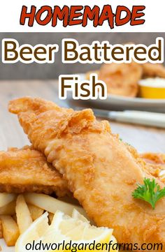 The perfect recipe to make Beer Battered Fish to serve with French fries for the ultimate Fish and Chips meal! Homemade Beer Battered Fish - Beer Battered Fish - perfect for homemade Fish and Chips Recipe For Fish And Chips, Homemade Fish And Chips, Homemade Beer, Fish Dishes, Seafood Dishes, Seafood Recipes, Walleye Fish Recipes, Fried Fish Recipes, Tilapia Recipes