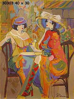 Isaac Maimon Fine Art Conference French Boulevard Style