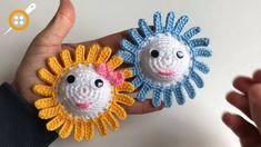 Amigurumi ay çiçeği yapımı Crochet Earrings, Bikini, Jewelry, Amigurumi, Handmade Home Decor, Pattern, Bikini Swimsuit, Jewlery, Jewerly