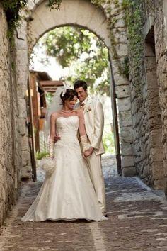robe de marie ivoire t 42 44 modle sigale de chez point mariage maine - Point Mariage La Rochelle