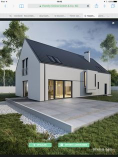 Barn Conversion Exterior, Bungalow Conversion, Outside House Paint Colors, House Colors, House Staircase, Modern Barn House, Long House, Small Modern Home, Boathouse