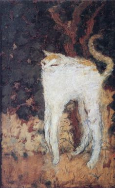 PIERRE BONNARD. The White Cat, 1894