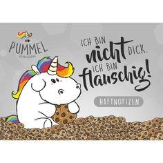 Pummeleinhorn - Sticky Notes, No. Fat Unicorn, Dance Art, Sticky Notes, Totoro, Filofax, Favorite Quotes, Cartoon Network, Drawing, Massage