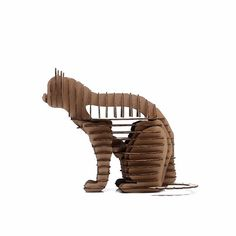 Halloween Cat 3d Puzzle Cute Kitty Decoration Model Paper Craft Toys DIY Cardboard Animal - 3D Animal Puzzles