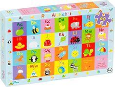 Little Wigwam - Puzzle Abecedario (60 piezas)