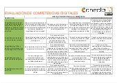 Rúbrica de evaluación de competencias digitales