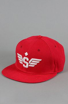 Spreader - Lie, Cheat, Steel Snapback (Red) by Gold Coin