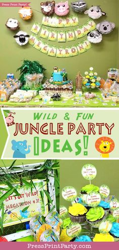 JUNGLE PARTY! Wild a