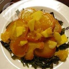Salade de betteraves à l'orange et à la pomme @ allrecipes.fr