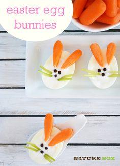 Easter Egg Bunnies! (Love the carrot ears!)