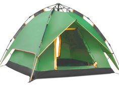 Instant Automatic Pop Up Backpacking C&ing Hiking 4 Man Tent Green  sc 1 st  Pinterest & Toogh 3 Season 2-3 Person Backpacking Tent Camping Tents http ...