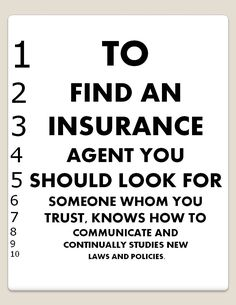 Look for an agent you can trust. #autoinsurance @Madeline Mooney Insurance Brokers