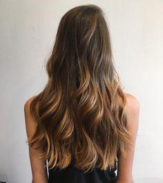 Mesmerized by this sun-kissed bronde balayage.   Hair by SALON by milk + honey stylist, Krystal. #milkhoneyhair