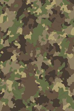 Militar Camo Nahtloses Muster Vektorhintergrund 15
