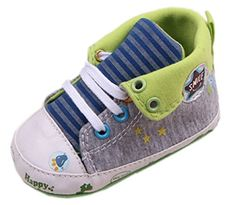 Bigood Liebe Espadrilles Krabbelschuhe Baby Junge Schuh Lauflernschuhe Grau 11cm
